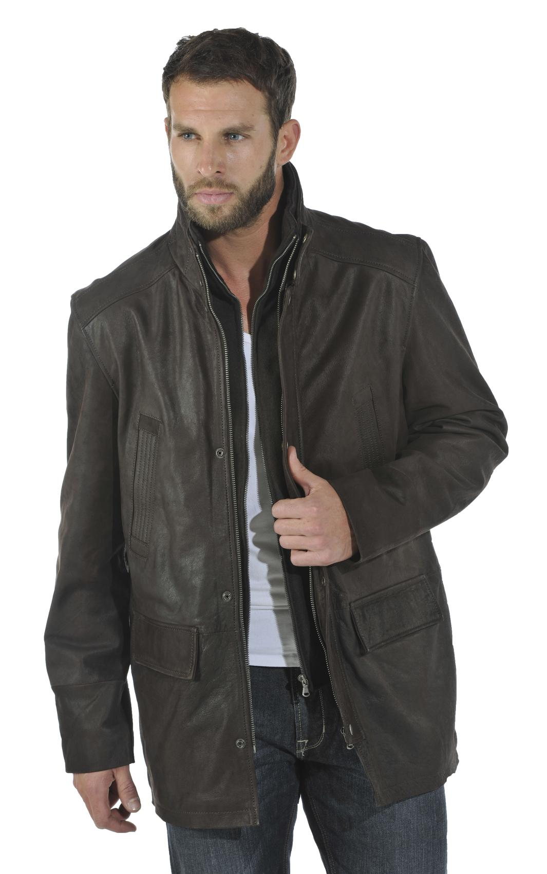 veste davitson timber pose