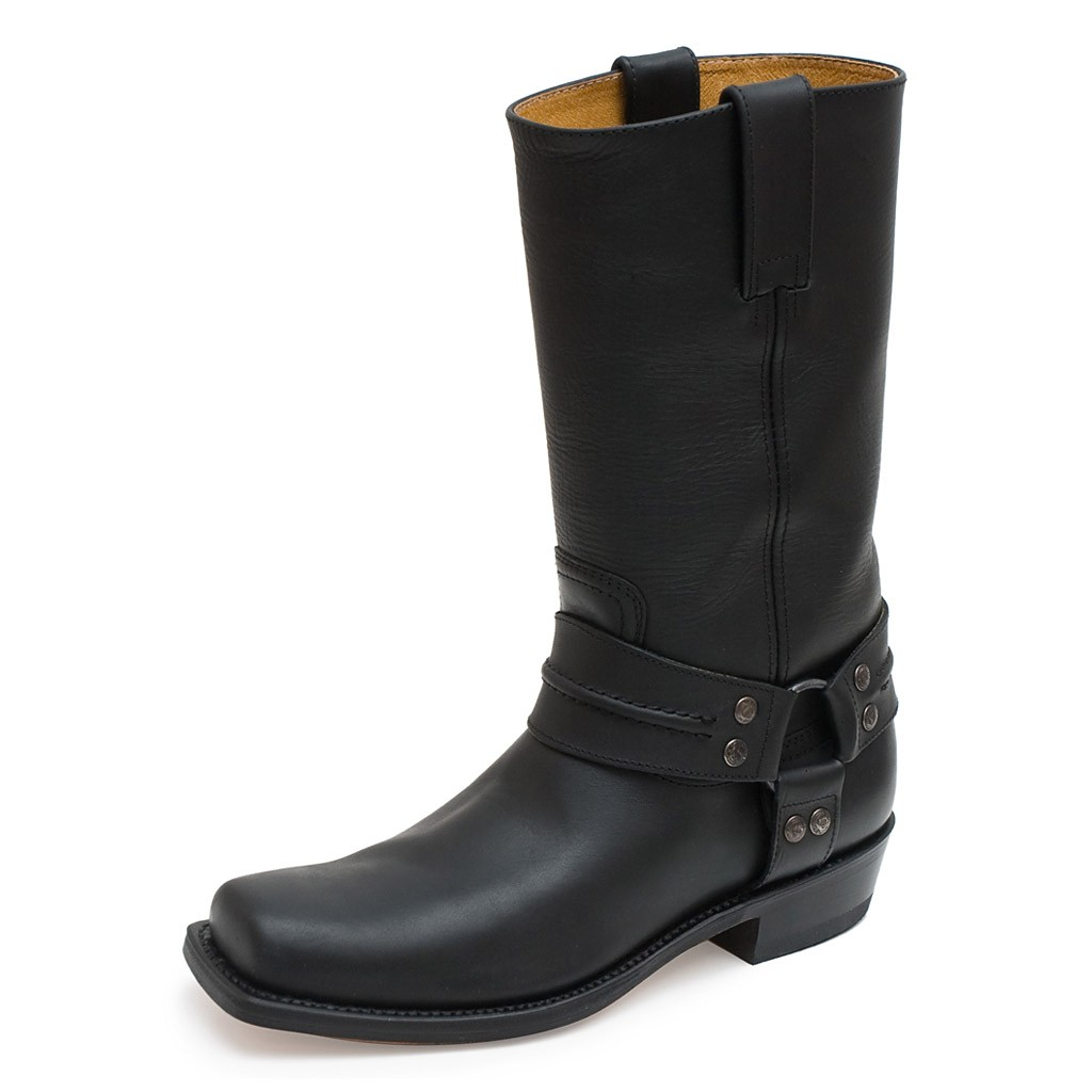 pete oil sendra bottes 2380 cuir negro pull gbYvyf76