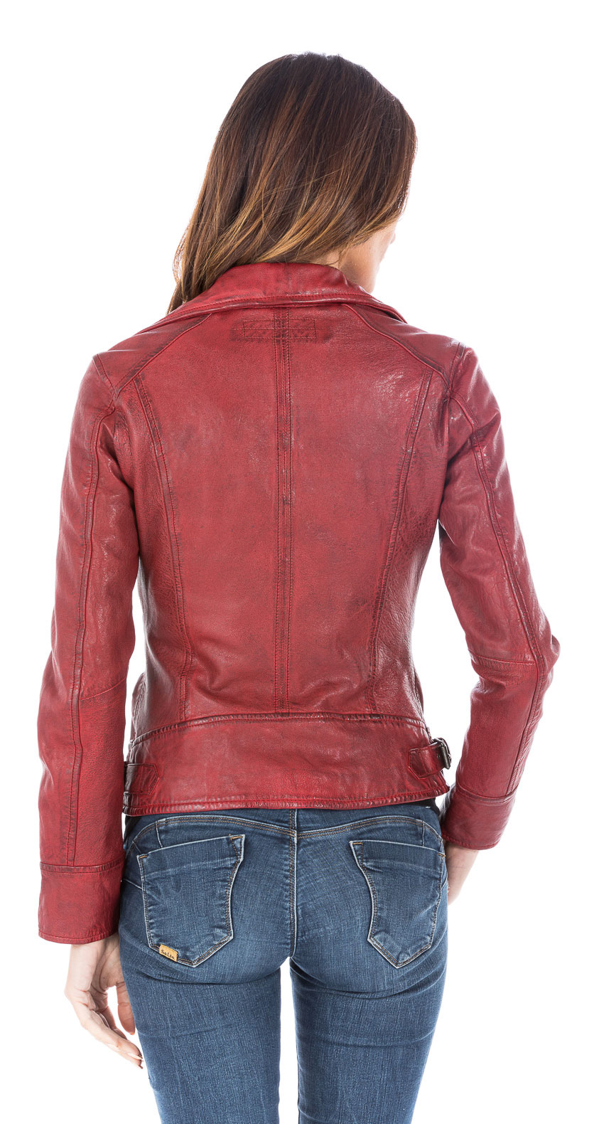 Leather jackets OAKWOOD of leather agneau-ref 62065 video-fire f6d9f7be78d