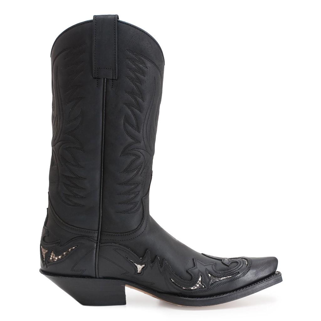 54d50c0a8d70d Men s cowboy boots SENDRA of leather -ref