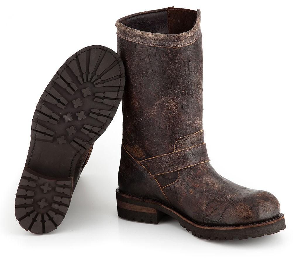 Bottes cuir mixte testa de moro Sancho Abarca Boots 5659 370