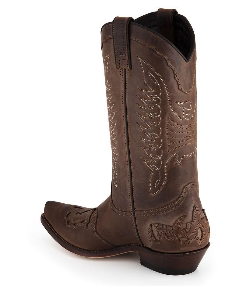 Bottes cuir mixte marron Sancho Abarca Boots 5119 383