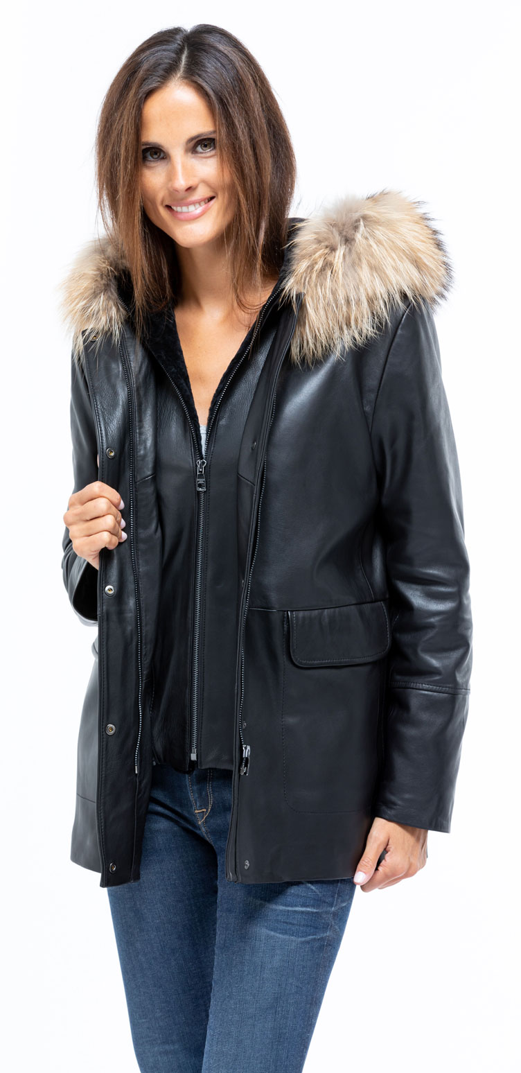 Manteaux coupe droite femme