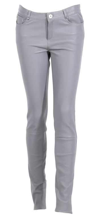 Vêtement en cuir Pantalon cuir OAKWOOD gris