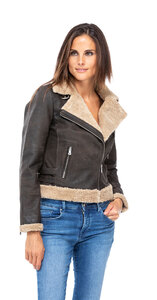 blouson cuir femme bigaro style bombardier perfecto (1)
