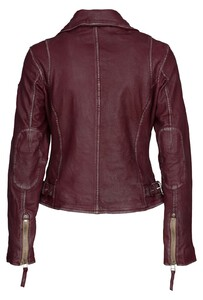 Blouson cuir femme style perfecto pgg perfecto_s17_lulv_wine_1_of_2__2