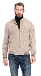 blouson cuir homme chevre velours guillaume style bombers (1)