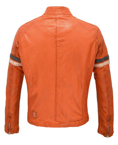 blouson cuir homme moto redskins orange 113 (2)