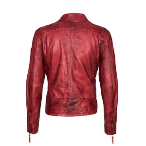 Blouson cuir homme rouge gipsy coby_s16_lakev_dos moto