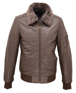 580a25be48f Vêtement en cuir Les bonnes affaires Homme CUIRS GUIGNARD marron