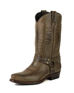 f0364a0b0c Men s Western Boots Leather shop Cuirs Guignard - Leather clothing - 3