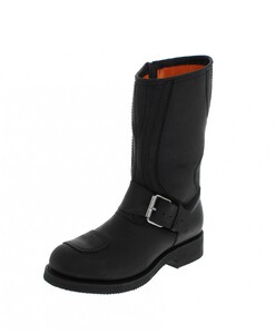 bottes cuir moto mayura crazy old negro réf 113 (1)
