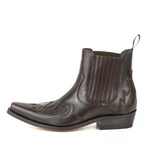 bottines cuir cowboy old manchado réf 237 (2)