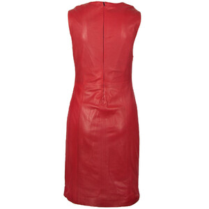 robe cuir femme gipsy rouge 12402 (2)