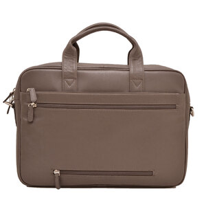 Sacoche cuir vachette taupe 464544 dos