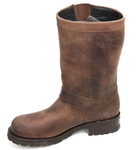 sancho boots biker marron custom engineer 5659 (4)