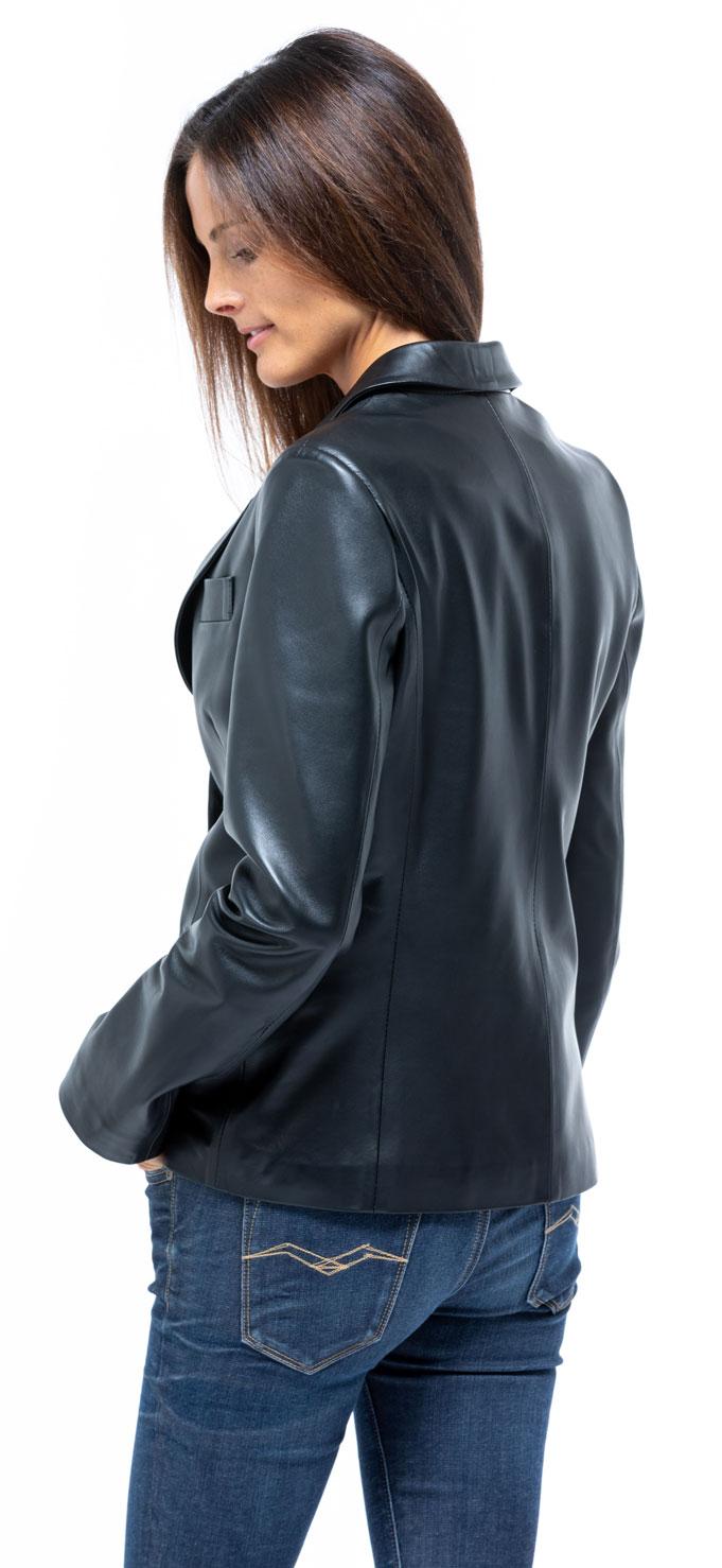 Veste noir blazer femme