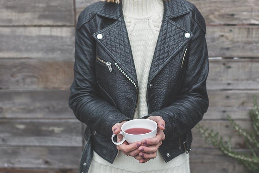 Meilleur marque veste en cuir femme